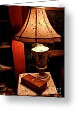 Antique Lamp Greeting Card