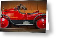 Antique Pedal Car 2 Greeting Card