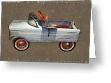Antique Pedal Car Lv Greeting Card by Michelle Calkins