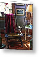 Antique Rocking Chair Greeting Card