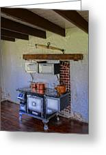 Antique Stove Greeting Card