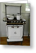 Antique Stove Number 3 Greeting Card