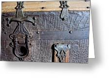 Antique Trunks 2 Greeting Card