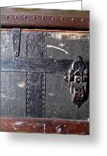Antique Trunks 4 Greeting Card