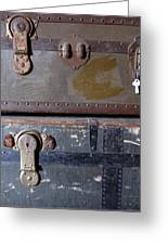 Antique Trunks 5 Greeting Card