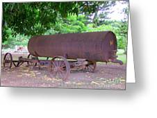 Antique Water Tank - No 2 Greeting Card