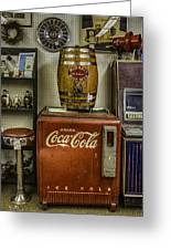 Antiques - Murray's Root Beer And Coca Cola Greeting Card