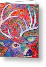 Antler Swirl Greeting Card