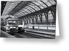 Antwerp Central Station II Greeting Card