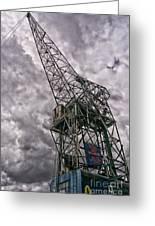 Antwerp Crane Greeting Card