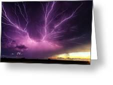 Anvil Crawler Lightning #1 Greeting Card