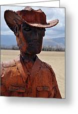 Anza Borrego Cowboy Greeting Card