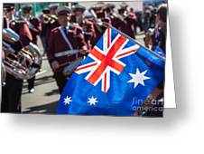 Anzac Day In Perth  Greeting Card