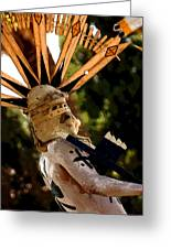 Apache Dancer Greeting Card