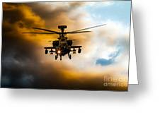 Apache Hunter  Greeting Card