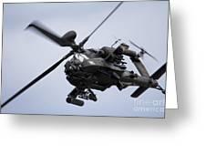 Apache Longbow Greeting Card