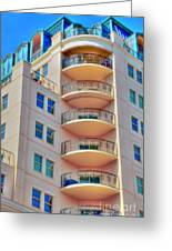 Apartment Building Greeting Card