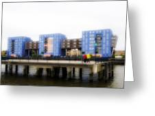 Apartments Rotterdam Greeting Card