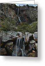Apikuni Falls Greeting Card