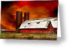 Apocalypse At Rolling Fork Greeting Card by T Lowry Wilson