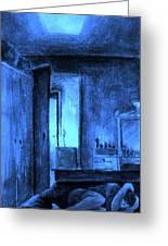 Apocalypsis 2001 Or Abandoned Soul Greeting Card