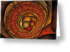Apocolypse Growth Rings Greeting Card