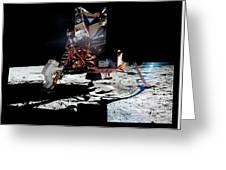 Apollo 11 Moon Landing Greeting Card