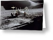 Apollo 15 Lunar Rover Greeting Card