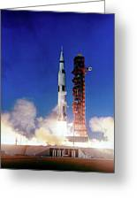 Apollo 8 Launch Greeting Card