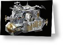 Apollo Lunar Module Ascent Stage Greeting Card