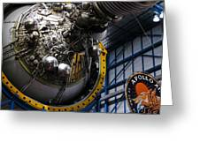 Apollo Mission Space Craft Greeting Card
