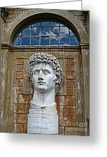 Apollo Statue At The Vatican Greeting Card