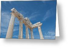 Apollo Temple Greeting Card
