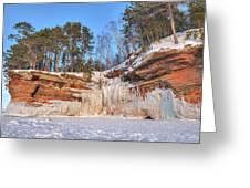 Apostle Islands Winter  Greeting Card
