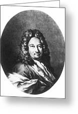 Apostolo Zeno (1668-1750) Greeting Card