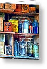 Apothecary Stockroom Greeting Card