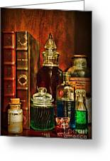Apothecary - Vintage Jars And Potions Greeting Card