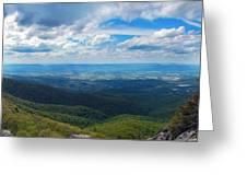 Appalachain Trail View Greeting Card