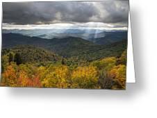 Appalachian Autumn North Carolina Fall Foliage Greeting Card