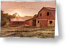 Appalachian Barns Greeting Card