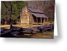 Appalachian Homestead Greeting Card
