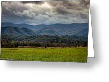 Appalachian Mountain Range Gsmnp Greeting Card by Paul Herrmann