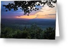 Appalachian Mountains Greeting Card