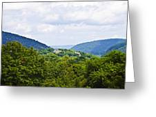 Appalachian Mountains West Virginia Greeting Card