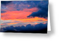 Appalachian Sunset Greeting Card