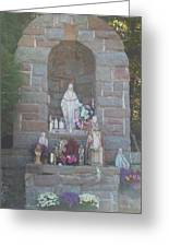 Apparition Of Virgin Mary Greeting Card