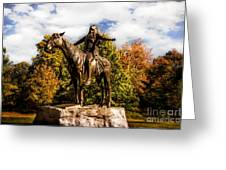 Appeal To The Great Spirit Greeting Card
