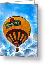 Appelbee's Hot Air Balloon Greeting Card