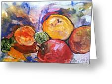 Appetite For Color Greeting Card