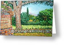 Appia Antica, View, 2008 Greeting Card